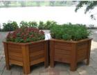 供应西安、防腐木花箱、户外木质花箱、园艺景观花箱