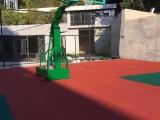 从化租用篮球架子维修更换钢化玻璃篮球板升降方管篮球架