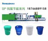 塑料圆桶注塑机厂家,塑料涂料桶生产设备,涂料桶生产设备