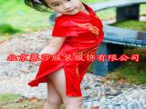 【慕莎】舞台演出服 少儿童礼服 大合唱服 表演服 旗袍订做直销