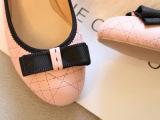 2014春季新款蝴蝶结浅口粗跟单鞋女鞋