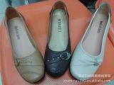 外贸新款方口注塑女鞋 新颖装饰扣 时尚设计 适合上班族