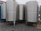 轉讓二手4噸不銹鋼儲罐 二手不銹鋼儲酒罐 歡迎詢問