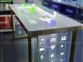 云浮手机柜台 金立新款收银台展示柜华为体验台 配件柜 维修台