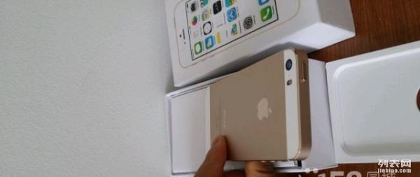 金色 苹果 iPhone5s 32GB 国行保修期内 无拆无修