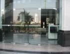 上海专业玻璃门安装 地弹簧玻璃门维修 电子门禁