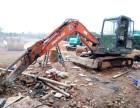 郴州宜章周边大小挖机带炮机出租