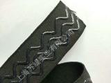 滴膠松緊帶 硅膠印刷防滑橡筋