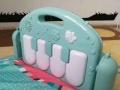婴儿健身架脚踏钢琴玩具0-1岁12个月新生儿宝宝音