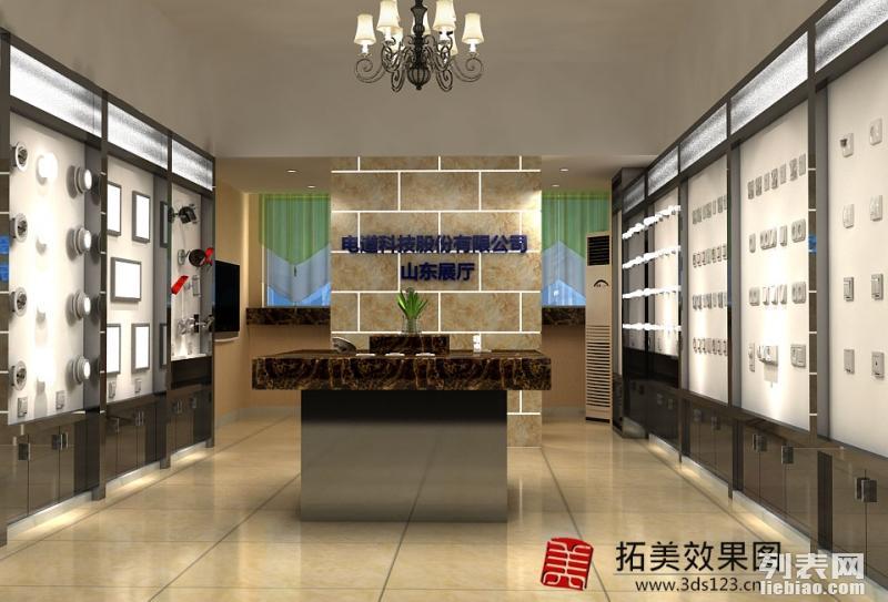 镇江做效果图制作 超市专柜专卖店效果图 展厅会展效果图