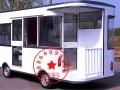 厂家专业订质小吃车早餐车流动手推车电动四轮车移动美食车
