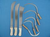 专业生产优质出口镰刀、锯齿镰刀、甘蔗刀等到农用刀具