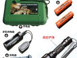 原装正品神火c8Q5进口LED 强光手电筒 露营野营野外照明骑行