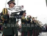 上海军乐队东北二人转表演,西洋民乐电声组合演出