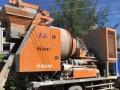 转让 混凝土泵车泵虎重工民和T6混凝土搅拌一体机