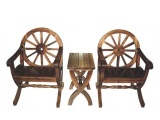 仿古防腐木仿古单人椅 JN024 中式高档家具椅子 加工定制
