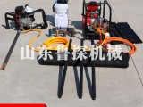 新款BXZ-1单人背包钻机 买背包便携式勘探钻机就找山东鲁探