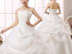 2015新款抹胸型婚纱春夏韩版新娘婚纱齐地修身显瘦包邮礼服影楼