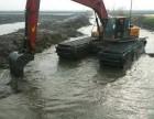 罗田县水陆挖机出租水陆挖掘机租赁服务承诺