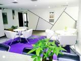 武汉联合办公精装修独立办公室工位出租,租期灵活,可注册
