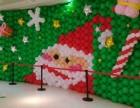 深圳气球派对,圣诞节氛围气球布置