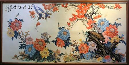 虫鸟瓷板画哪里可以变现,快速出手