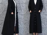厂家直销春夏新款原创文艺女装棉麻长款开衫