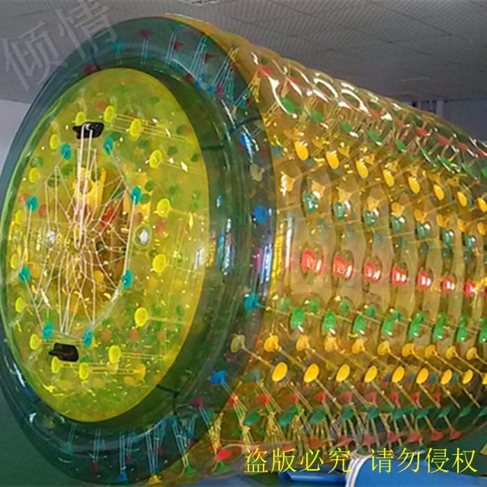 室内陆地滚筒球 充气球 家用滚筒球 迷你版滚筒球 淘气堡配件