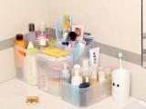 无印良品组合收纳 化妆品收纳盒 叠加式收纳盒 塑料护肤品收纳盒