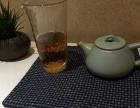 老土布 粗布 刺子绣 方茶席 杯垫 盘垫
