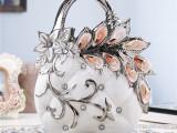 陶瓷工艺品 欧式陶瓷摆件陶瓷花瓶贝壳工艺品家居摆件一件代发