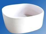 供应华创陶瓷坩埚锂质无膨胀陶瓷坩埚