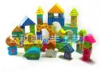 儿童玩具智力积木 木制智慧乐园 大块积木宝宝1-3岁 益智玩具