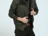 AFS Jeep/战地 吉普男式休闲纯棉休闲夹克外套 时尚立领短