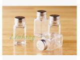 厂家直销 玻璃瓶 玻璃调味瓶 椒盐瓶 胡椒瓶 烧烤调料瓶120g