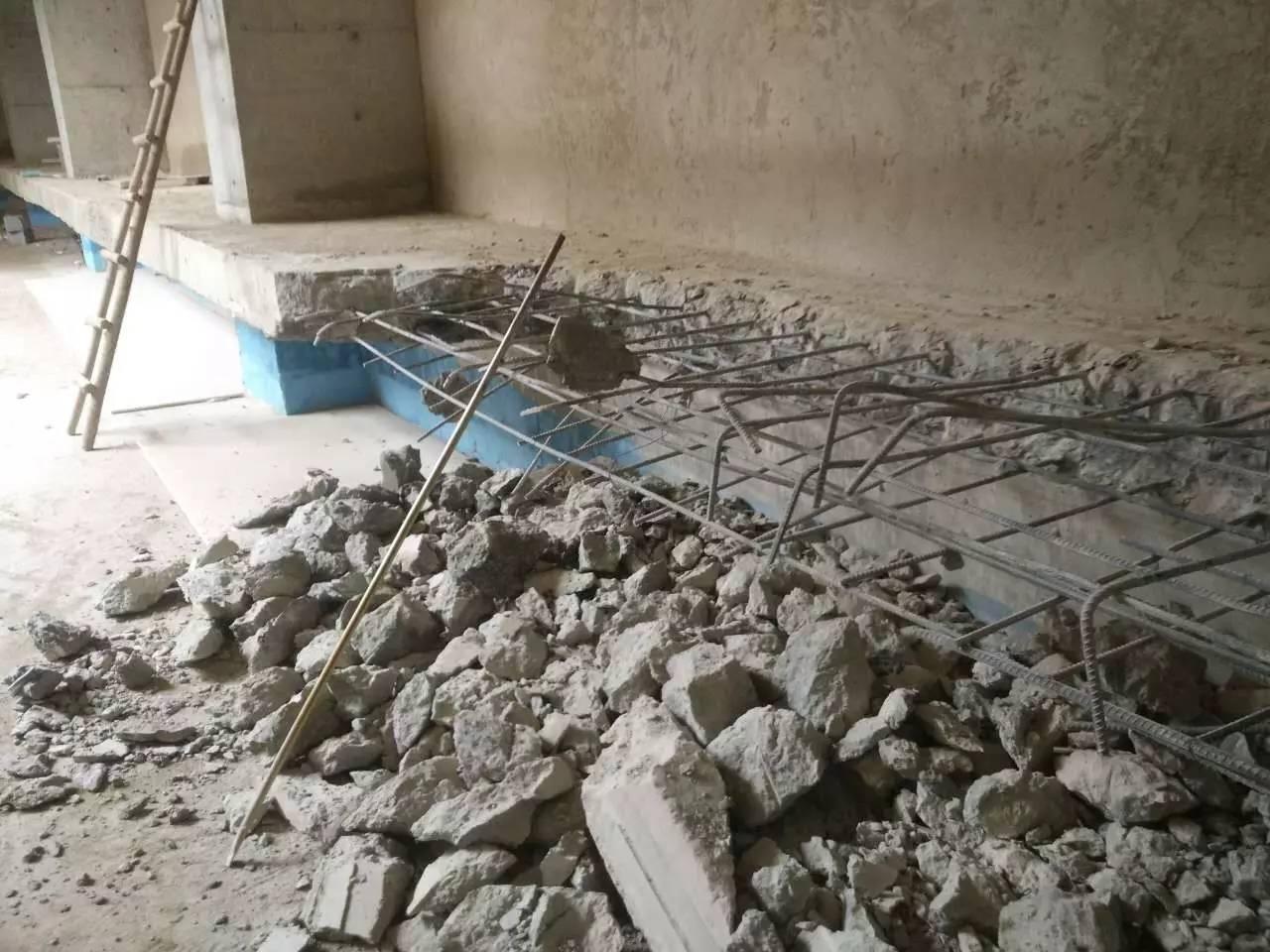 混凝土破碎拆除