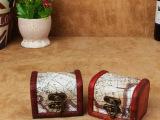 欧式创意木盒 收纳储物小盒喜糖盒 经典首饰盒 摆设装饰品道具盒