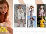 廣州豌豆中外籍模特經紀公司 服裝畫冊拍攝