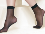 义乌厂家批发天鹅绒超溥短袜地摊热销平板散袜女士丝袜 成人丝袜
