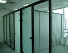 广州天河区五山办公室玻璃隔断定制,写字楼铝合金玻璃门安装