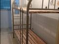 安徽合肥上下铺铁架床批发厂家出售高低铁床宿舍床
