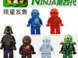 得高幻影遁形忍者四代拼装积木人仔零件包玩具遁形绿忍者0021-2