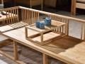新中式罗汉床 双人为沙发 实木定制 一件批发