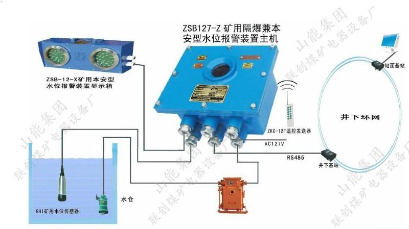 山能集团联创煤矿升光牌水位报警器,全自动ZSB水位报警器