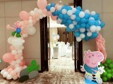 天津宝宝宴百岁宴生日宴气球布置策划