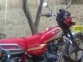 豪爵150国2摩托车
