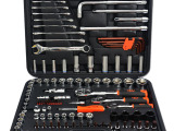 华丰巨箭汽车修理套筒扳手组合工具 120件综合维修套装工具