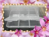 透明塑料6格药盒 盲文便携药盒 随身小药盒 时尚简洁