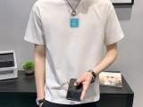 广州男装摆摊纯棉T恤5元批发潮牌男装短袖T恤工厂直销直播货源