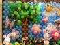 各种气球、KT板装饰